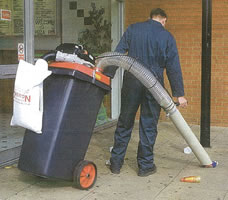 240-125-ELN Vacuum Litter Collector from SteamPlus