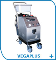 VegaPlus dry-steam cleaning machine