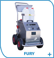 Fury dry steam cleaning machine